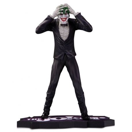 The Joker Clown Prince of Crime statuette The Joker by Brian Bolland DC Direct