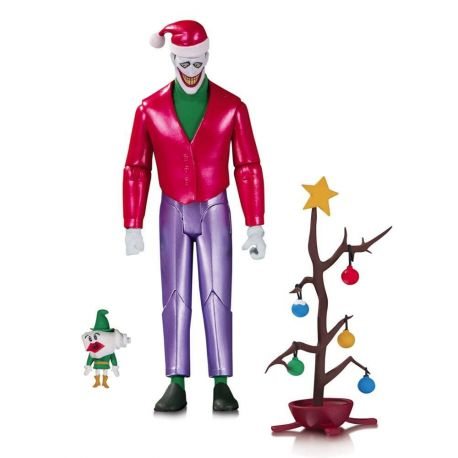 Batman The Animated Series figurine Christmas with The Joker DC Direct