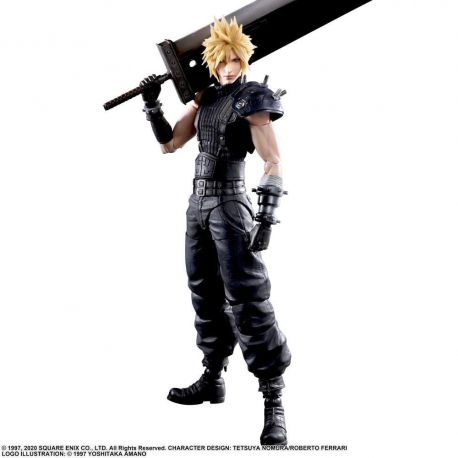 Final Fantasy VII Remake Play Arts Kai figurine Cloud Strife Ver. 2 Square Enix