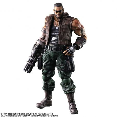 Final Fantasy VII Remake Play Arts Kai figurine Barret Wallace Ver. 2 Square Enix