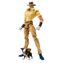 JoJo's Bizarre Adventure figurine Super Action Chozokado (Joseph Joestar & Iggy) Medicos Entertainment