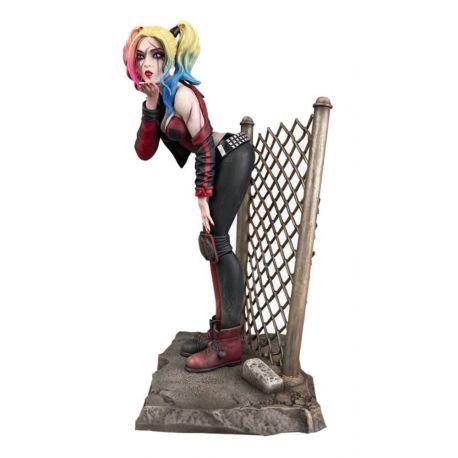 DC Comic Gallery statuette DCeased Harley Quinn Diamond Select