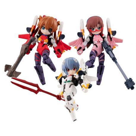 Evangelion assortiment figurines Desktop Army 8 cm Movie Version Megahouse