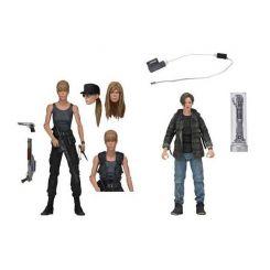 Terminator 2 Le Jugement dernier pack 2 figurines Sarah Connor & John Connor Neca