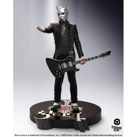 Ghost statuette Rock Iconz Nameless Ghoul (Black Guitar) Limited Edition Knucklebonz