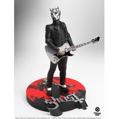 Ghost statuette Rock Iconz Nameless Ghoul (White Guitar) Limited Edition Knucklebonz