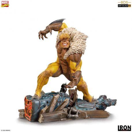 Marvel Comics statuette 1/10 BDS Art Scale Sabretooth Iron Studios