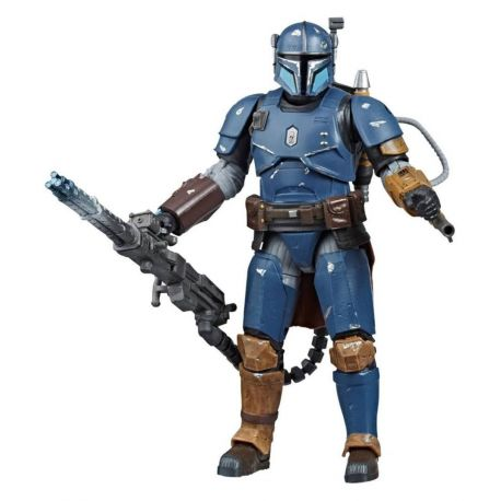Star Wars The Mandalorian Black Series figurine Deluxe Heavy Infantry Mandalorian Exclusive Hasbro