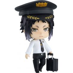 Bungo Stray Dogs figurine Nendoroid Ryunosuke Akutagawa Airport Ver. Orange Rouge