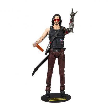 Cyberpunk 2077 figurine Johnny Silverhand McFarlane Toys