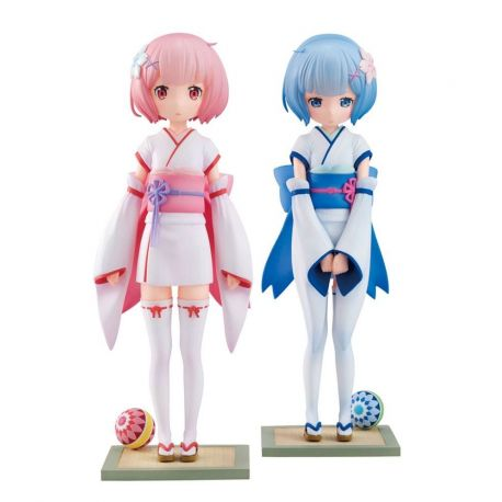 Re:ZERO -Starting Life in Another World- statuettes 1/7 Rem & Ram Osanabi no Omoide Furyu