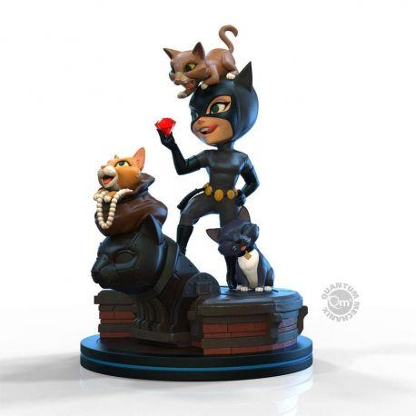 DC Comics figurine Q-Fig Elite Catwoman Quantum Mechanix
