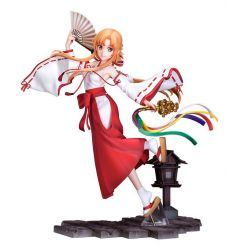 Sword Art Online : Alicization - War of Underworld statuette 1/7 Asuna Miko Ver. Souyokusha
