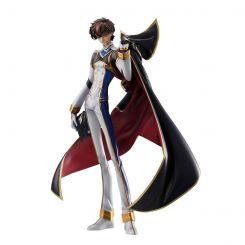 Code Geass: Resurrection Lelouch statuette G.E.M. 1/8 Kururugi Suzaku Pilot Suit Version Megahouse