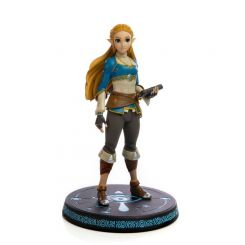 The Legend of Zelda Breath of the Wild statuette Zelda First 4 Figures