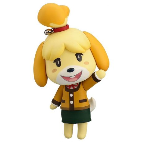 Animal Crossing New Leaf figurine Nendoroid Shizue Isabelle Winter Ver. Good Smile Company