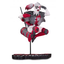 DC Comics Red, White & Black statuette Harley Quinn by Guillem March DC Direct