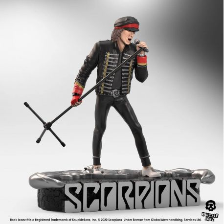 Scorpions statuette Rock Iconz Klaus Meine Limited Edition Knucklebonz