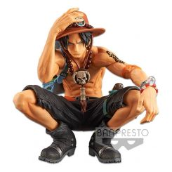 One Piece statuette King Of Artist Portgas D. Ace Special Ver. Banpresto