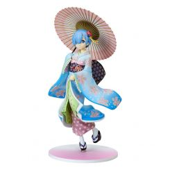 Re:ZERO -Starting Life in Another World- statuette 1/8 Rem Ukiyo-e Cherry Blossom Kadokawa