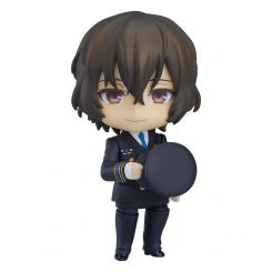 Bungo Stray Dogs figurine Nendoroid Osamu Daza Airport Ver. Orange Rouge