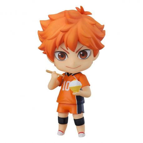 Haikyu!! figurine Nendoroid Shoyo Hinata The New Karasuno Ver. Orange Rouge