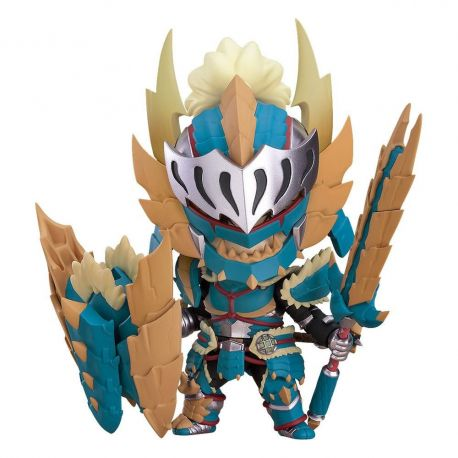 Monster Hunter World Iceborne figurine Nendoroid Hunter: Male Zinogre Alpha Armor Capcom
