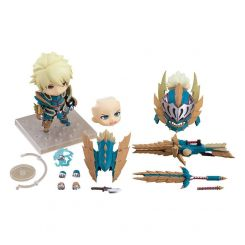 Monster Hunter World Iceborne figurine Nendoroid Hunter: Male Zinogre Alpha Armor Ver. DX Capcom