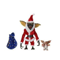 Gremlins pack 2 figurines Santa Stripe & Gizmo Neca