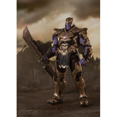 Avengers : Endgame figurine S.H. Figuarts Thanos Final Battle Edition Bandai Tamashii Nations