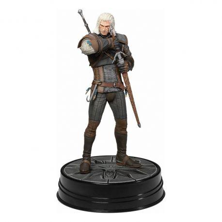 Witcher 3 Wild Hunt statuette Heart of Stone Geralt Deluxe Dark Horse