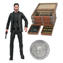 John Wick figurine Deluxe Box Set Diamond Select