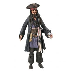 Pirates des Caraïbes figurine Deluxe Jack Sparrow Diamond Select