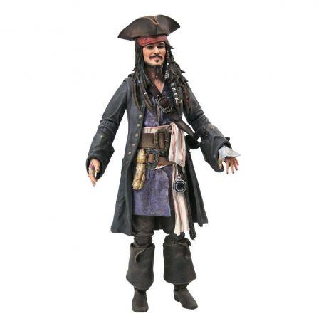 Pirates des Caraïbes figurine Deluxe Jack Sparrow Diamond Select