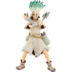 Dr. Stone statuette Pop Up Parade Senku Ishigami Good Smile Company