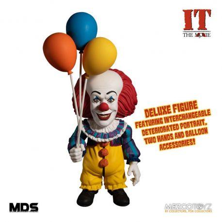 Il est revenu 1990 figurine MDS Deluxe Pennywise Mezco Toys