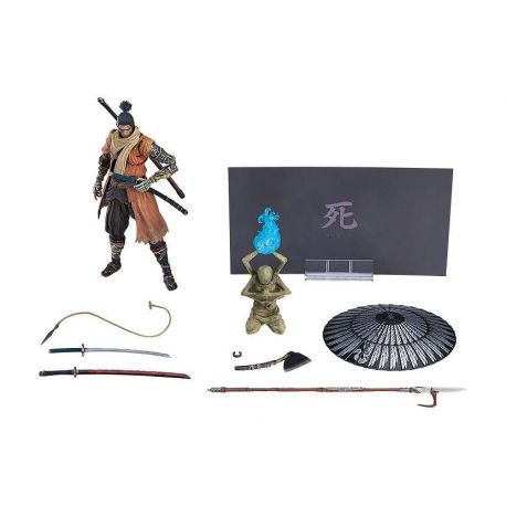 Sekiro: Shadows Die Twice figurine Figma Sekiro: DX Edition Max Factory