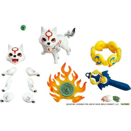 Okami figurine Nendoroid Amaterasu DX Version Max Factory