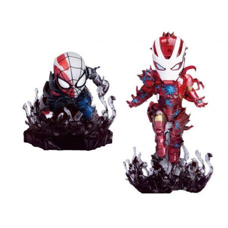 Marvel pack 2 figurines Mini Egg Attack Maximum Venom SDCC 2020 Beast Kingdom Toys