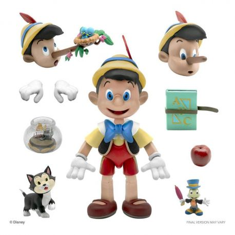 Disney figurine Ultimates Pinocchio Super7