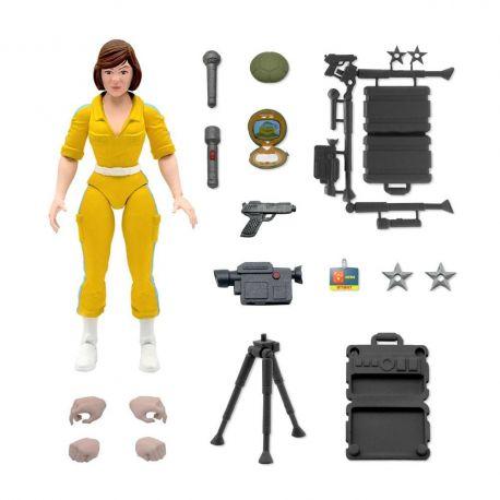 Les Tortues ninja figurine Ultimates April O'Neil Super7