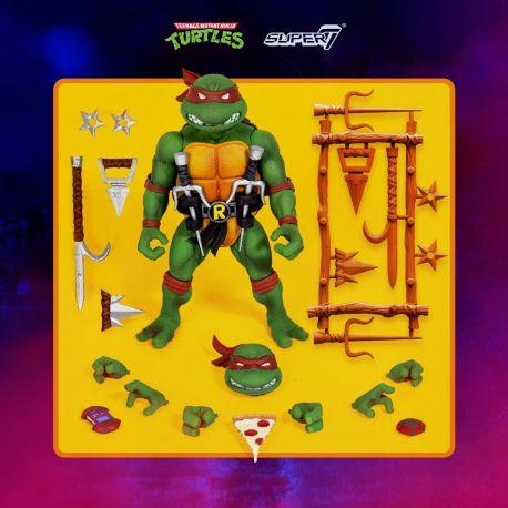Les Tortues ninja figurine Ultimates Raphael Super7