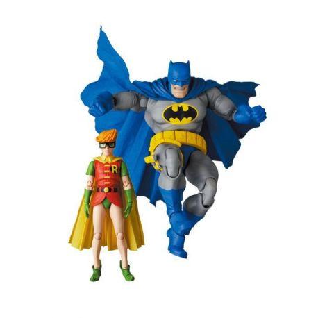 Batman : Dark Knight figurines MAF EX Batman Blue Version & Robin Medicom
