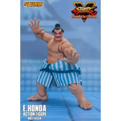 Street Fighter V Champion Edition figurine 1/12 E. Honda Nostalgia Costume Storm Collectibles