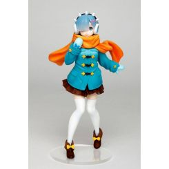 Re:Zero statuette Rem Winter Clothes Ver. Taito Prize