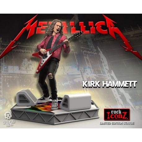 Metallica statuette Rock Iconz Kirk Hammett Limited Edition Knucklebonz