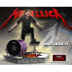 Metallica statuette Rock Iconz Lars Ulrich Limited Edition Knucklebonz