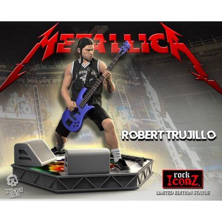 Metallica statuette Rock Iconz Robert Trujillo Limited Edition Knucklebonz