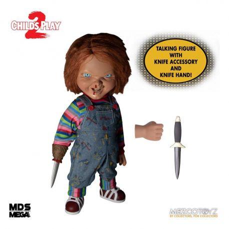 Chucky Jeu d´enfant 2 poupée parlante Designer Series Menacing Chucky Mezco Toys