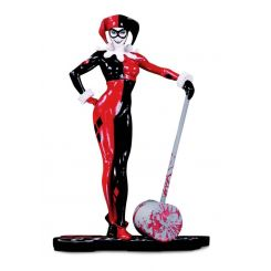 DC Comics Red, White & Black statuette Harley Quinn by Adam Hughes DC Direct